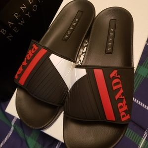 Prada rubber slippers